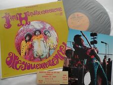 WOODSTOCK HENDRIX TICKET + Are You Experienced LP + 8X10 PHOTO__Original NM- LOT