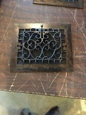 Tc 6  4Available Priced Separate Antique Wall Heating Grate Refinished