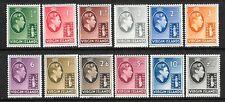 BRITISH VIRGIN ISLANDS 1938  KGVI  PICTORIALS  SET 12 MLH  SG 110/21