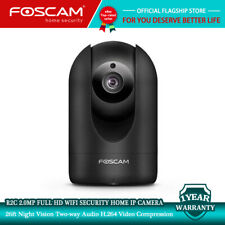 Foscam R2C 1080P WiFi IP Camera Pan/Tilt Surveillance Camera Human Detection P2P