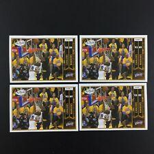 Lebron James 4 Sticker Game 7 NBA Panini Finals 2016 2017 (16-17) 418 European