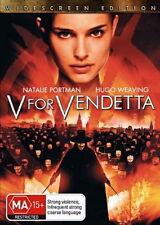 V For Vendetta - Action / Thriller - Natalie Portman, Hugo Weaving - NEW DVD