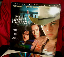 'CLAY PIGEONS' Vince Vaughn Thriller on R-rated AC3 12-Inch Laser Disc, NM