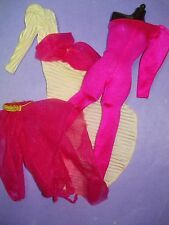 Vtg Barbie SUPERSTAR 80s Doll Clothes Lot DAY TO NIGHT set 1984 9182