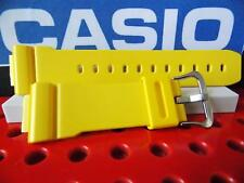 Casio Watch Band G-5600 A-9 Yellow Also fits GW-6900, DW-6900,GW-M5600, DW-5600E