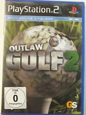 !!! PLAYSTATION PS2 SPIEL Outlaw Golf 2, gebraucht aber GUT !!!