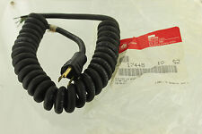 COOPER INDUSTRIES BELDEN 17448 RETRACTILE POWER CORD CABLE 1FT 13A 125V NEW