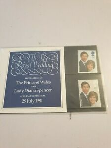 The Royal Wedding 1981 Stamps