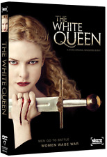 The White Queen: Complete Aneurin Barnard Romance Mini Series Box / DVD Set NEW!