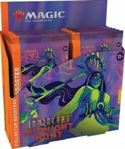 Innistrad Midnight Hunt Collector Booster Box - MTG Magic the Gathering - New!