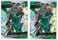 2019-20 Panini Revolution #75 Jayson Tatum New Year Cracked Ice Lot 2 Celtics