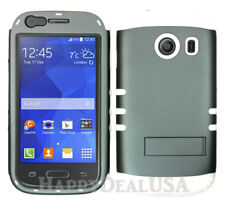 For Samsung Galaxy Ace Style S765c - KoolKase Hybrid Cover Case - Gray (R)