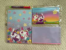 Lisa Frank vintage stationery set, bunnies, unused!