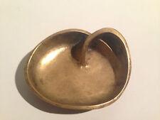 Vintage Bronze Brass Aschenbecher geschwungen Edel Ashtray Auböck Hagenauer Era