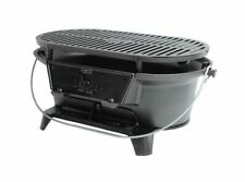 Lodge Cast Iron Sportsmans Grill Seasoned Hibachi BBQ L410 Brand New