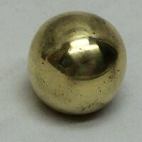 Vintage Round Brass Finial