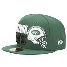 New York Jets Football Helmet New Era 59Fifty hat new with stickers NY AFC 7 1/4