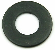 Black Oxide Stainless Steel Flat Washer 5/16, Qty 100