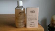 Philosophy Pure Grace Nude Rose 60ml Edt & Shampoo, Bath & Shower Gel 240ml New
