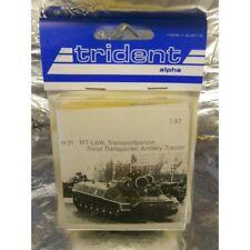 ** Trident 80031 MT-LBW Troop Transport Artillery Tractor Whitemetel Kit 1:87