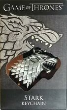 Game of Thrones STARK KEYCHAIN new in box HBO The Noble Collection Direwolf