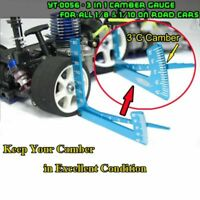 RC 1/8 1/10 Car Set Up Tool chassis Suspension Wheel Camber Ride Height Guage