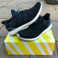 AUTHENTIC parley X adidas ULTRABOOST 4.0 BLACK GREEN Size 11 Mens (See desc)