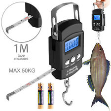 Hand LCD Electronic Digital Scale Travel Fish Luggage Postal Hanging Hook Weight