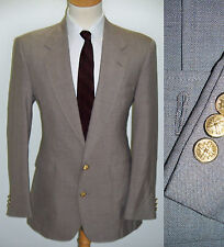 42L Brown JOSEPH RICHARDS Wool Blend College Mens Dinner Jacket MOD Blazer