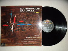 "LP VARIOUS ""Carrefour du Jazz Volume 1"" Ray Bryant MGM F2 mgm 125 FRANCE µ"