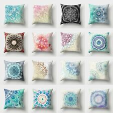 Geometric Throw Waist Polyester Cover Case Pillow 18'' Sofa Decor Cushion Home