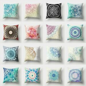 Geometric Throw Waist Polyester Cover Case Pillow 18'' Sofa Decor Cushion Home