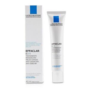 La Roche Posay Effaclar K+ Gel 40ml anti-oxidant And for blackheads *NEW*