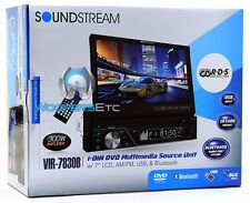 "pk VIR-7830B SOUNDSTREAM 7"" TV TOUCH SCREEN CD DVD USB AUX BLUTOOTH + XO CAMERA"