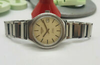 USED VINTAGE LONGINES ADMIRAL SILVER DIAL DATE AUTOMATIC MAN'S WATCH