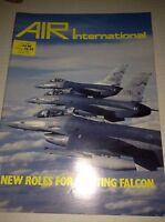 Air International Plane Magazine Fighting Falcon Roles July 1988 120716rh2