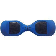 "Dark Blue Silicone Jelly Swegway Half Wrap Cover Case 6.5"" Classic Balance Board"
