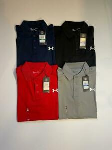 New Under Armour Men's Short Sleeve Performance Polo HEATGEAR SHIRT