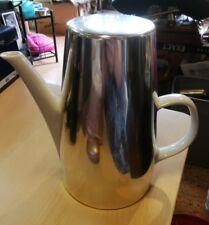 Original Melitta Kaffekanne, Porzellan weiß, mit Thermodeckel