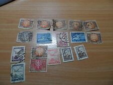 Bundle of vintage Poland stamps
