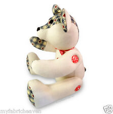 """10"""" Teddy Bear Or Rag Doll Independent Design Fabric Sewing PATTERN Soft Toy"""