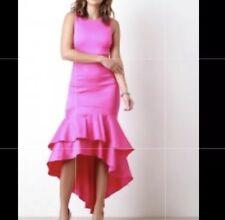 Hot Pink Mermaid Dress Medium