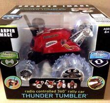 SHARPER IMAGE RADIO CONTROLLED THUNDER TUMBLER RED CAR