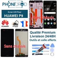 Écran complet LCD + tactile Huawei P9 Noir + Outils, stock FR