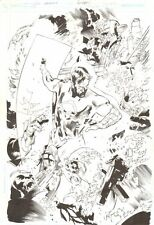 Ion #4 p.4 - Awesome Green Lantern Action Splash - art by Greg Tocchini