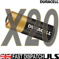 20 x Duracell MN21 A23 K23A LRV08 pile alcaline 12v