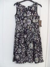 Genuine ZARA Multicolour Satin Jewel Print Tulip Dress- Size XS - BNWT