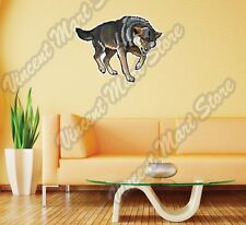 "Wolf Canis Lupus Wild Animal Wall Sticker Room Interior Decor 25""X20"""