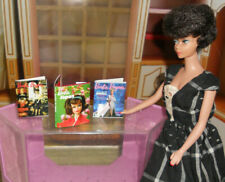 Barbie in Japan Book & Bazaar Magazines in Miniature for Doll House Diorama