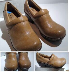 BOC Born Nursing Clogs Iridescent Marble Pattern Comfort Shoes Sz 7.5 Mules NEW